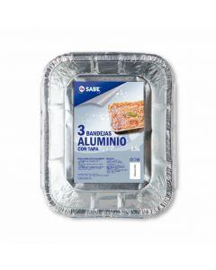 Bandeja de aluminio 1,5 litros  ifa sabe 3ud