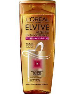Champú aceite extraordinario cabello seco elvive loréal 370ml