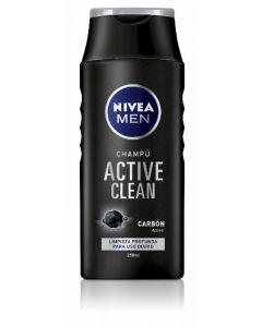 Champú active clean nivea men 250ml