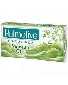 Jabón en pastilla con aceite de oliva verde palmolive pack de 3 unidades de 90g