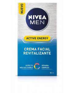 Crema facial revitalizante active energy nivea men 50ml