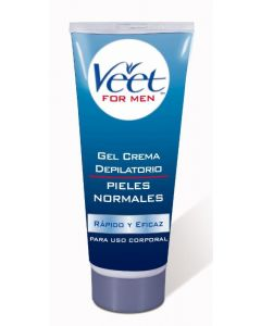 Crema depilatoria corporal masculina para piel normal veet 200ml