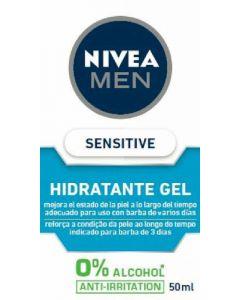Gel hidratante sensitive cool nivea men 50ml