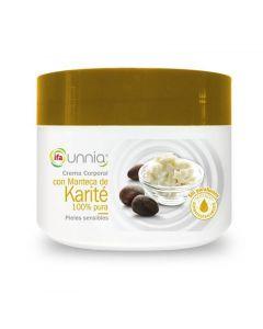 Crema corporal con aceite de karité ifa unnia 200ml