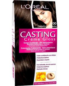 Coloración castaño 400 casting crème gloss loréal