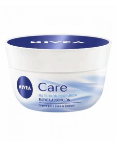 Crema corporal care nivea 200ml