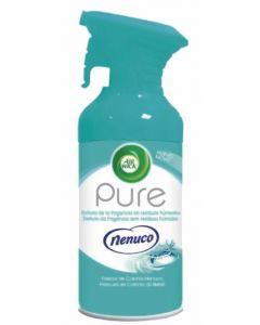 Ambientador aerosol aroma nenuco air wick pure 250ml