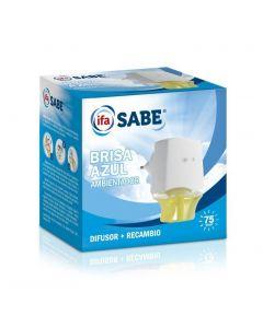 Ambientador eléctrico aroma brisa azul ifa sabe aparato + recambio 26ml