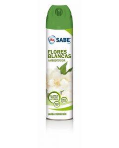 Ambientador aerosol aroma flores blancas ifa sabe 300ml