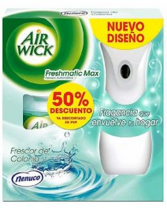 Ambientador automático aroma nenuco air wick aparato + recambio 250ml