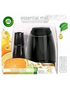 Ambientador automático aroma citrus air wick essential mist aparato + recambio