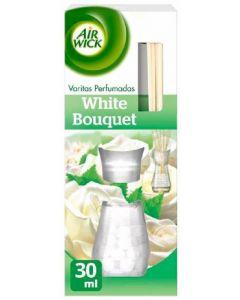 Ambientador de varitas aroma bouquet air wick 30ml