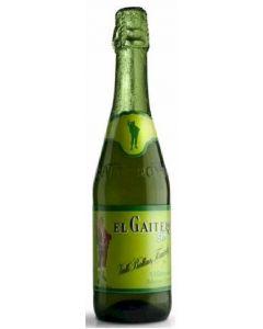 Sidra sin alcohol el gaitero botella 75cl