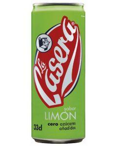 Refresco de limón casera lata 33cl