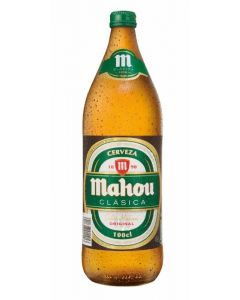 Cerveza clásica mahou 1l