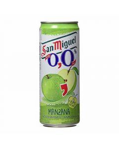 Cerveza con sabor a manzana san miguel lata 33cl