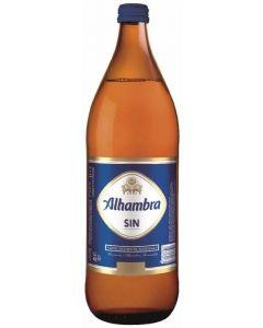Cerveza sin alcohol alhambra sin botella 1l