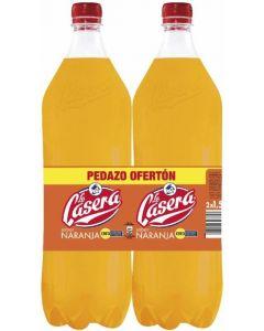 Refresco de naranja casera botella pack de 2 unidades de 1,5l