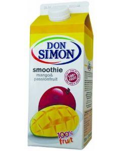 Bebida smoothie de mango y maracuya don simón brik 75cl