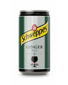 Ginger ale schweppes lata 25cl