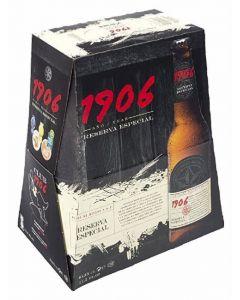 Cerveza 1906 red vintage botella pack de 6 unidades de 33cl