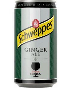Ginger ale schweppes botella 25cl