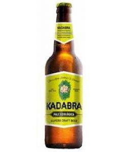 Cerveza artesanal ecologica kadabra botella 33cl