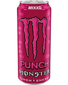 Bebida energetica punch monster lata 50ml