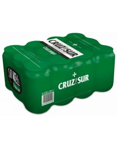 Cerveza cruz del sur lata pack de 12 unidades de 33cl