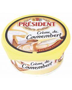 Crema de queso camembert president 125g