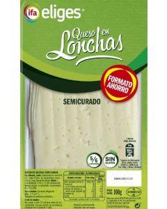Queso semicurado ifa eliges lonchas 100g