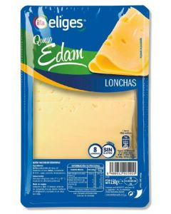 Queso edam ifa eliges lonchas 150g