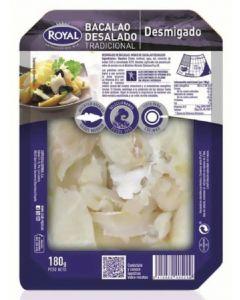 Bacalao desalado desmigado royal 180g
