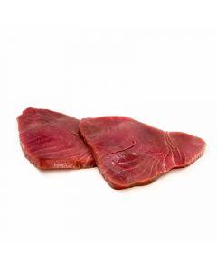 atún lomo alto corte sin colorante granel