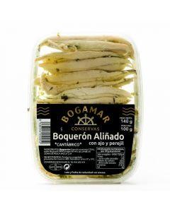 Boqueron filete aliñado bogamar 100g