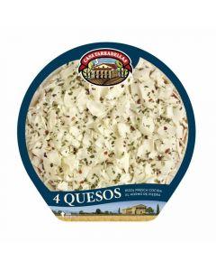 Pizza fresca 4 quesos casa tarradellas 410g