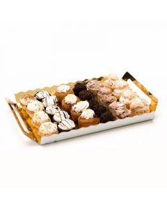 Bandeja mini pasteles pack de 27 unidades de 18g