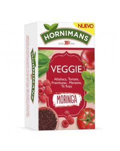 Te rojo moringa hornimans  veggies 20 sobres