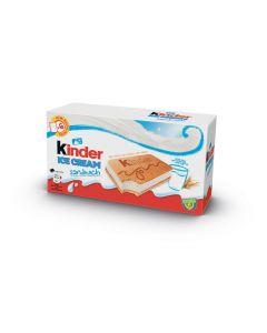 Helado sandwich kinder bueno pack de 6 unidades de 60ml