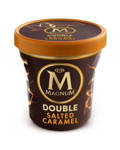 Helado double caramelo magnum pint 440ml