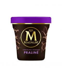Helado magnum pint praline frigo 440ml