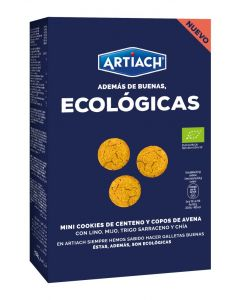 Galleta mini cookie eco artiach 150g