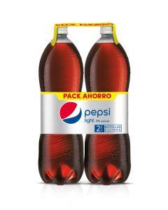 Refresco de cola light pepsi botella pack de 2 unidades de 2l
