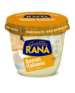 Salsa quesos italianos pasta rana  250g
