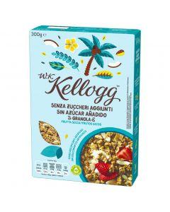 Cereal granola sin azucar frutos secos w.k kelloggs 300g