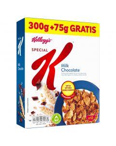 Cerales rellenos de chocolate con leche kelloggs 375g