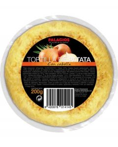 Mini tortilla de patatas con cebolla palacios 200g