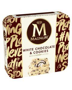 Helado choc blanco-cookies magnum p3x90ml