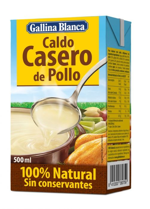 Comprar Caldo Casero Pollo Gallina Bla En Supermercados Mas Online