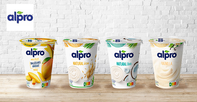 Yogures Alpro